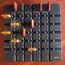 Squadro game board