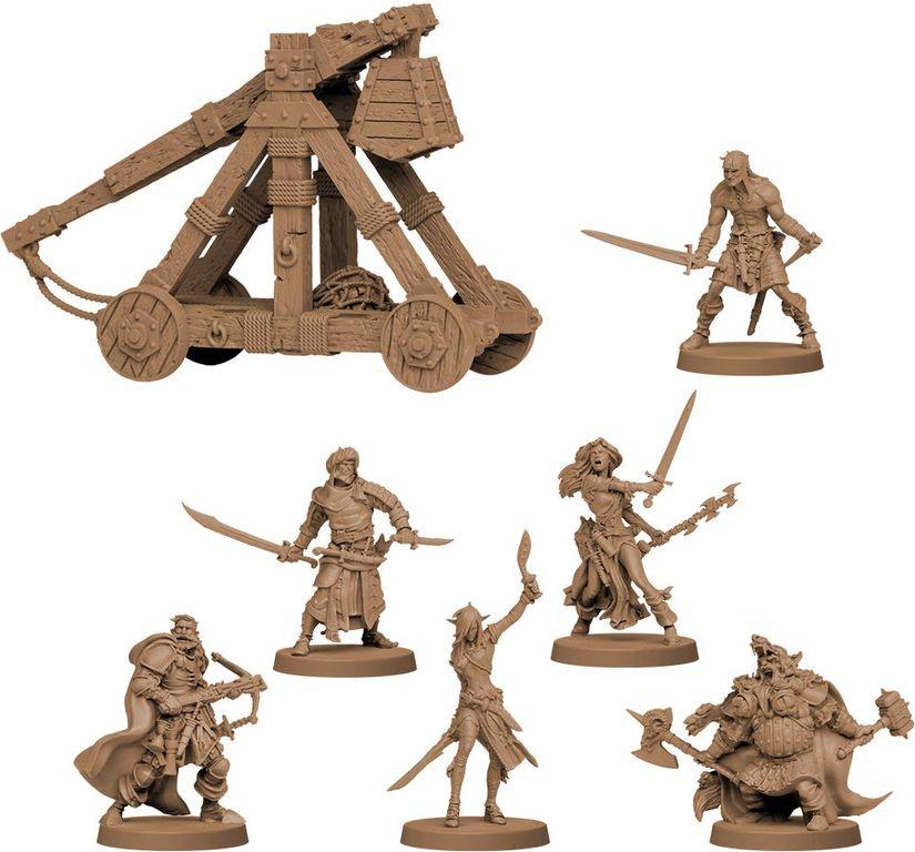 Zombicide: Green Horde miniatures