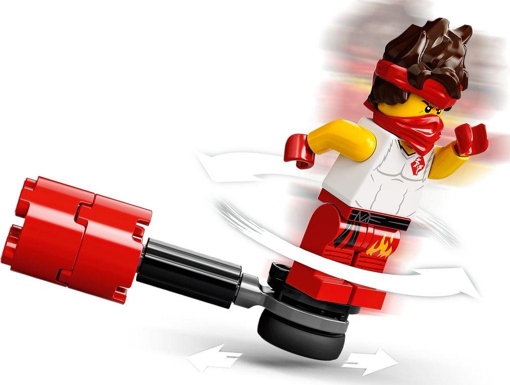 LEGO® Ninjago Epic Battle Set - Kai vs. Skulkin minifigures