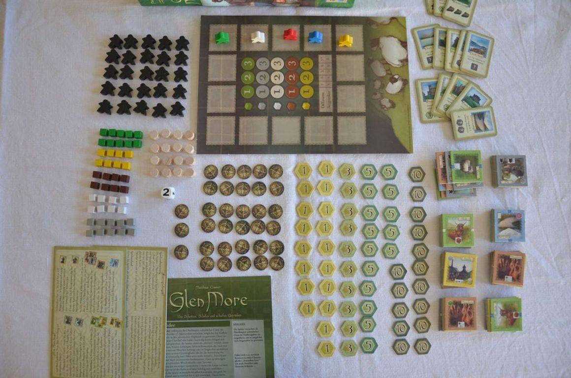 Glen More components
