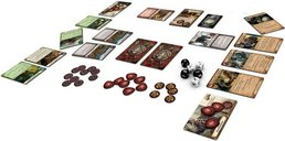 Warhammer Quest: Adventure Card Game components