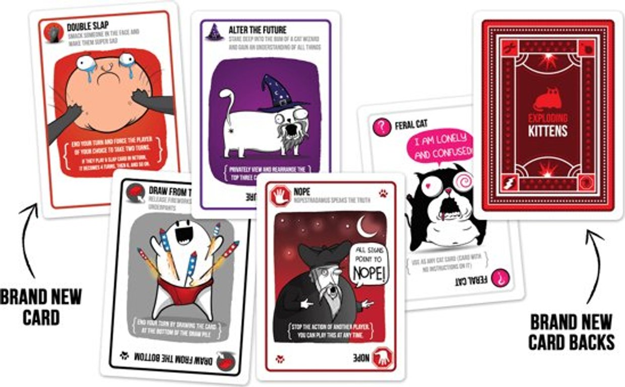 Exploding Kittens: Party Pack manual