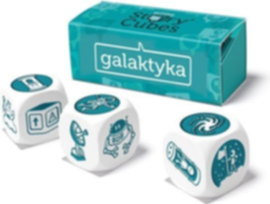 Rory's Story Cubes: Intergalactic components