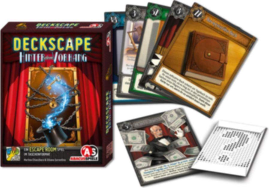 Deckscape: Behind the Curtain cards