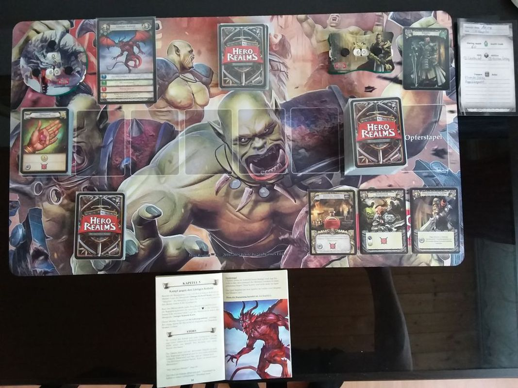 Hero Realms: The Ruin of Thandar Campaign Deck gameplay
