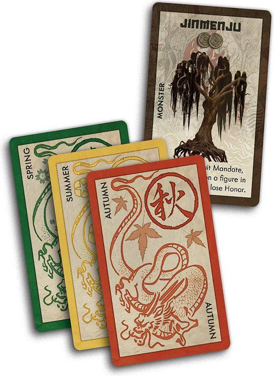 Rising Sun: Monster Pack cards