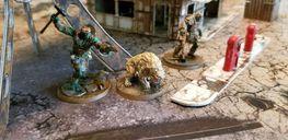 Fallout: Wasteland Warfare miniatures