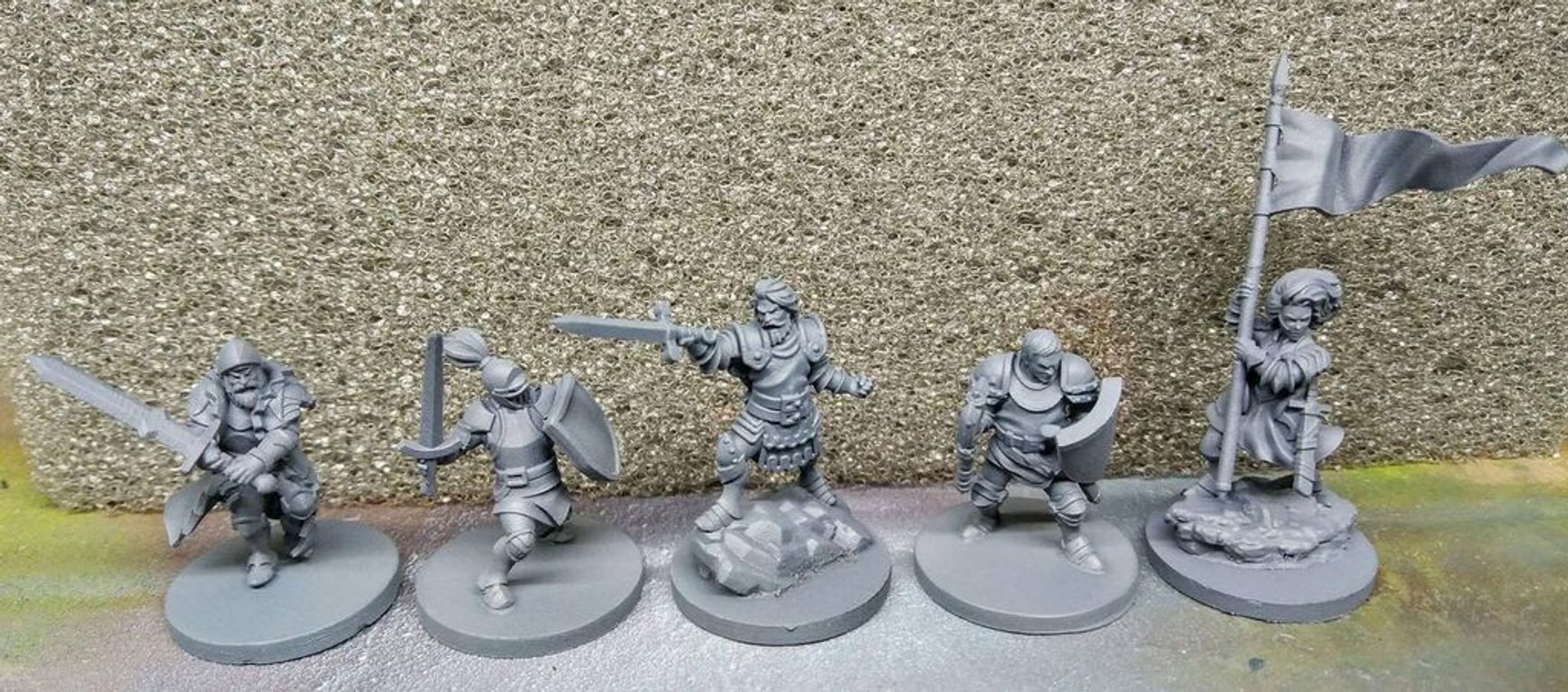 Time of Legends: Joan of Arc miniatures