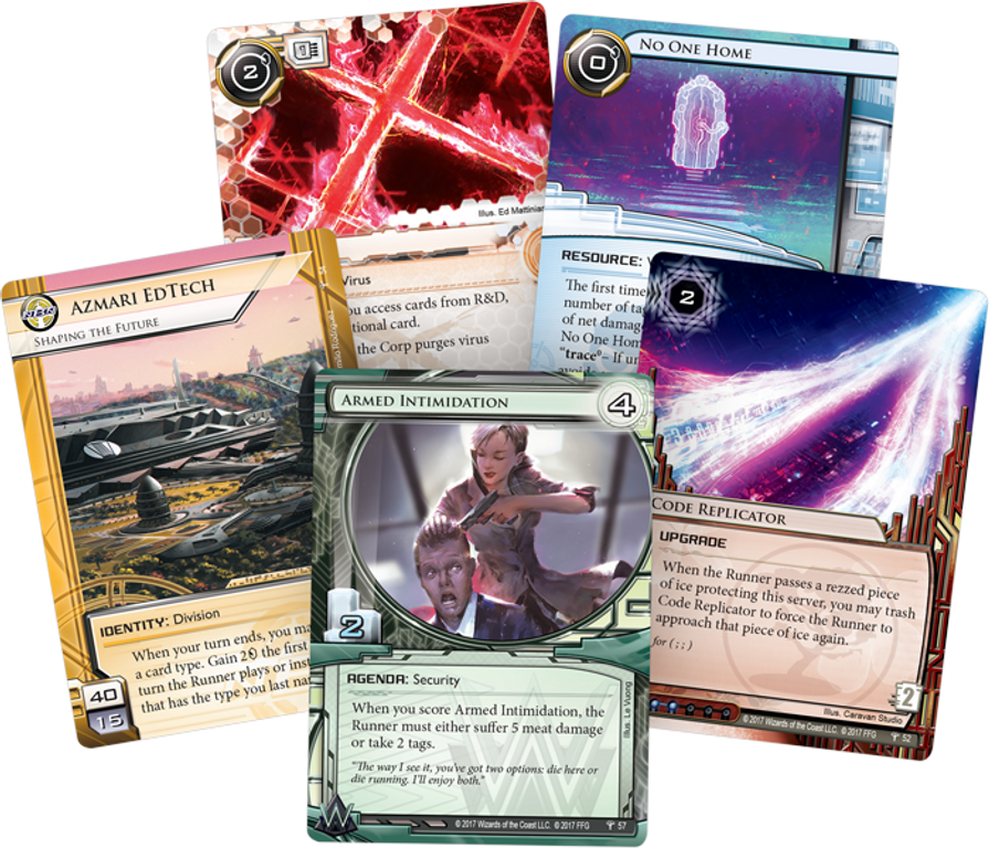 Android: Netrunner - Council of the Crest cards