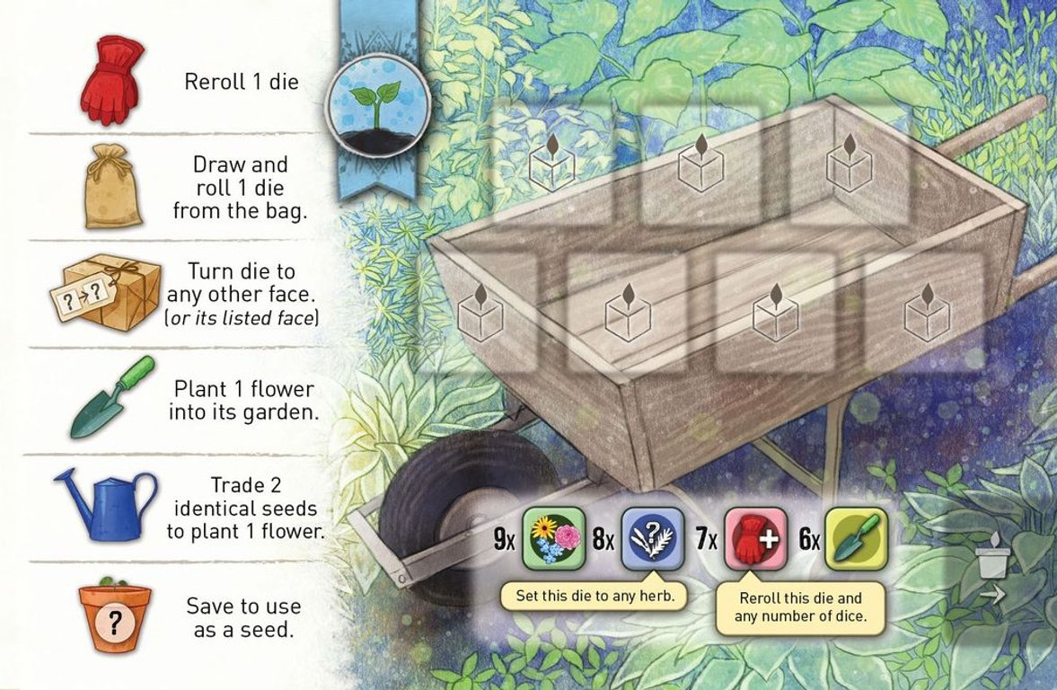 Herbaceous Sprouts game board