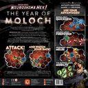 Neuroshima Hex: Year of Moloch back of the box