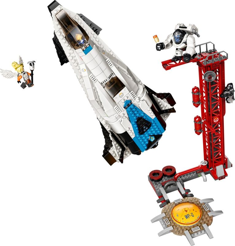 LEGO 75975 Watchpoint: Gibraltar components