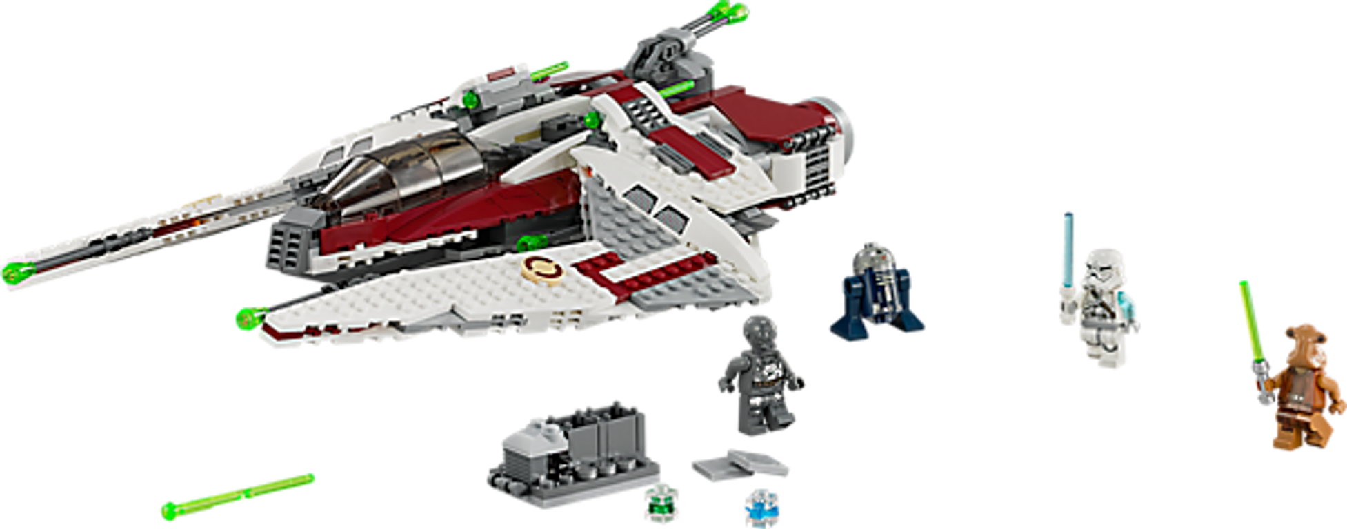 LEGO® Star Wars Jedi Scout Fighter components