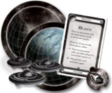 Cosmic Encounter: Cosmic Conflict components