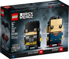LEGO® BrickHeadz™ Tactical Batman™ & Superman™