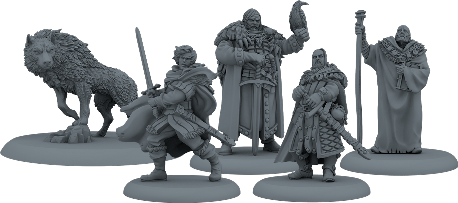 A Song of Ice & Fire: Tabletop Miniatures Game - Night's Watch Starter Set miniatures