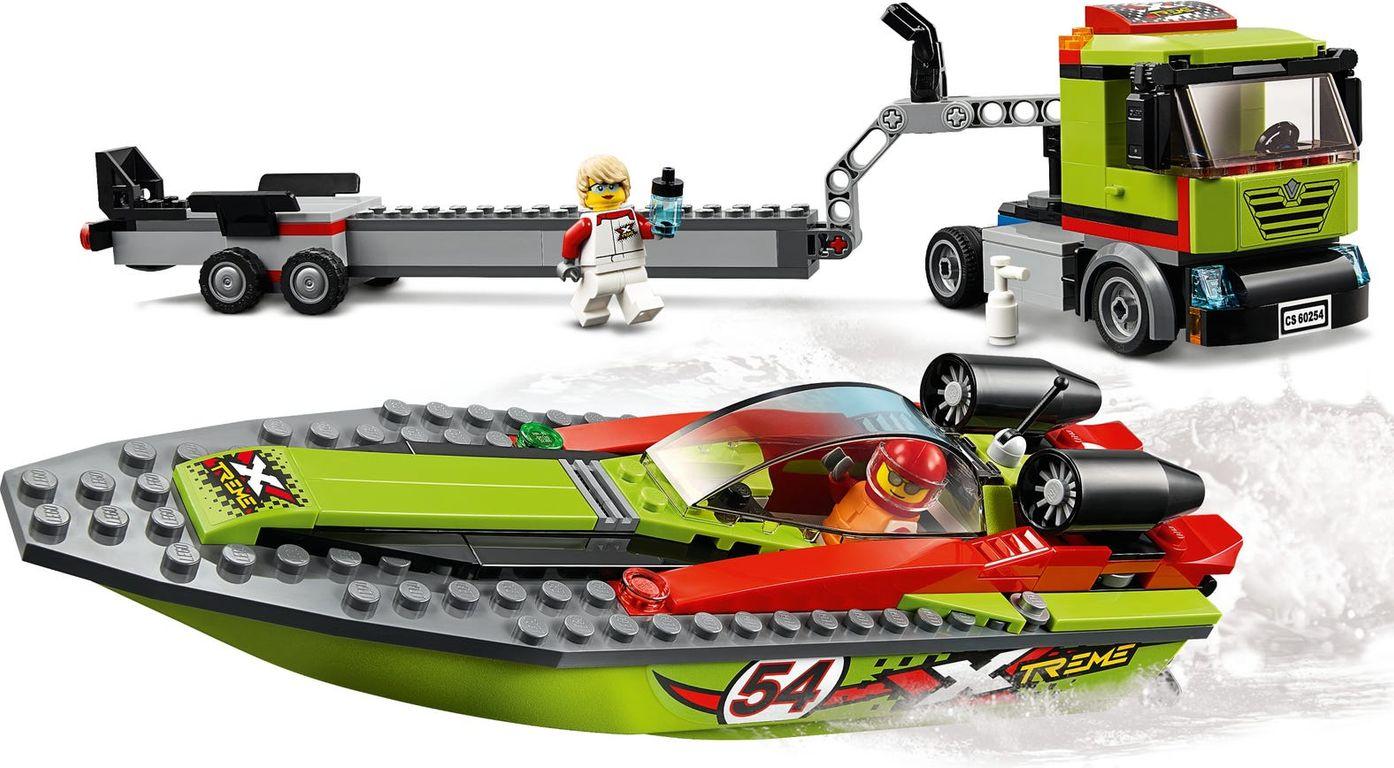 Race Boat Transporter gameplay