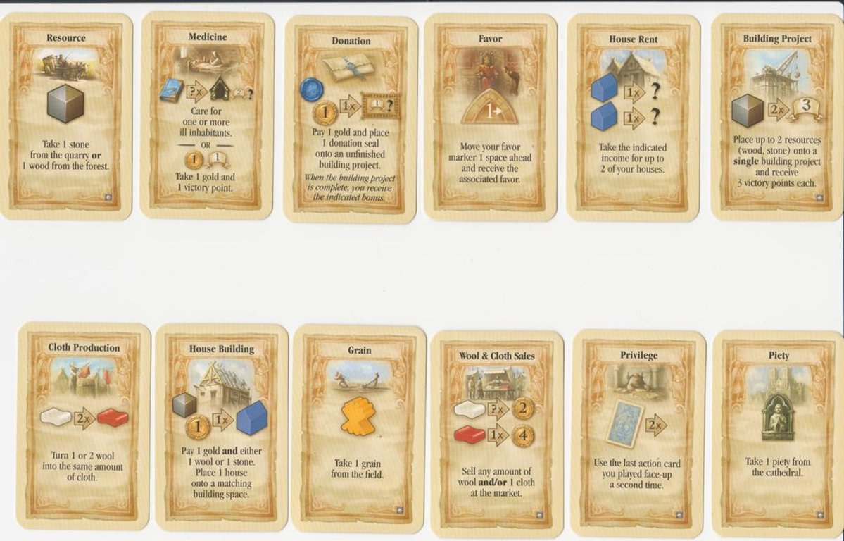 World Without End cards