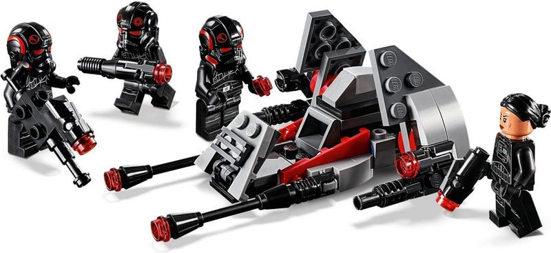 Inferno Squad™ Battle Pack minifigures