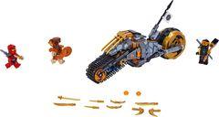 LEGO® Ninjago Coles Offroad-Bike components