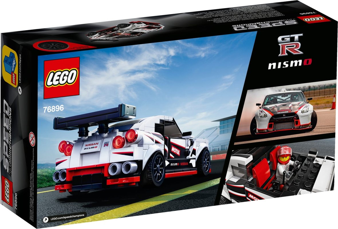 Nissan GT-R NISMO back of the box