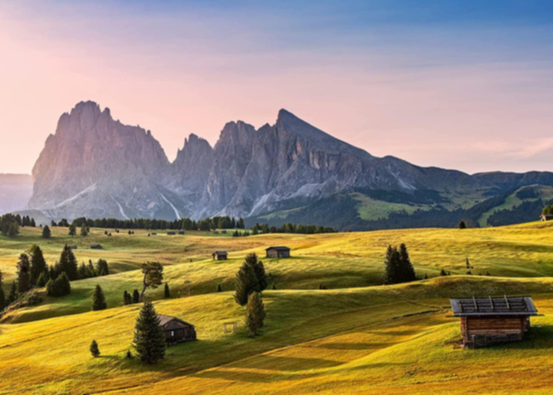 Seiser Alm, Dolomiten, Südtirol