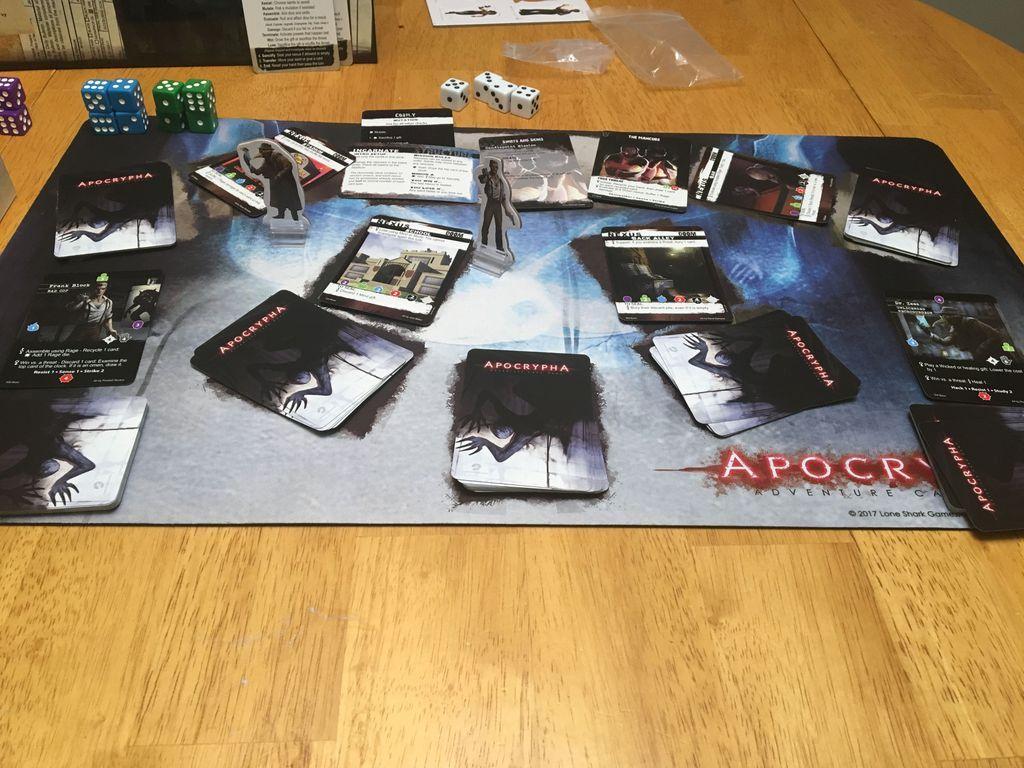Apocrypha Adventure Card Game spielablauf