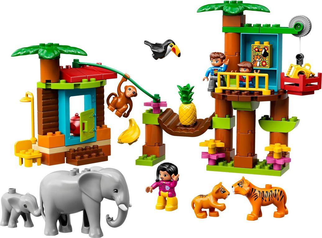 Tropical Island components