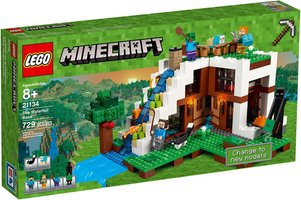 LEGO® Minecraft The Waterfall Base
