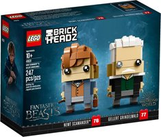 LEGO® BrickHeadz™ Newt Scamander™ & Gellert Grindelwald