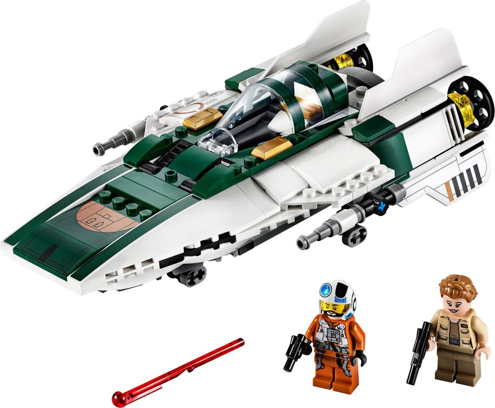 Resistance A-Wing Starfighter™ components