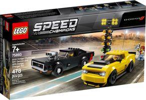 LEGO® Speed Champions 2018 Dodge Challenger SRT Demon en 1970 Dodge Charger R/T