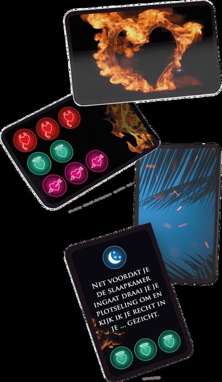 Temptation Island: Het bordspel kaarten