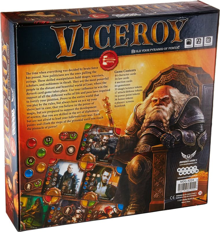 Viceroy back of the box