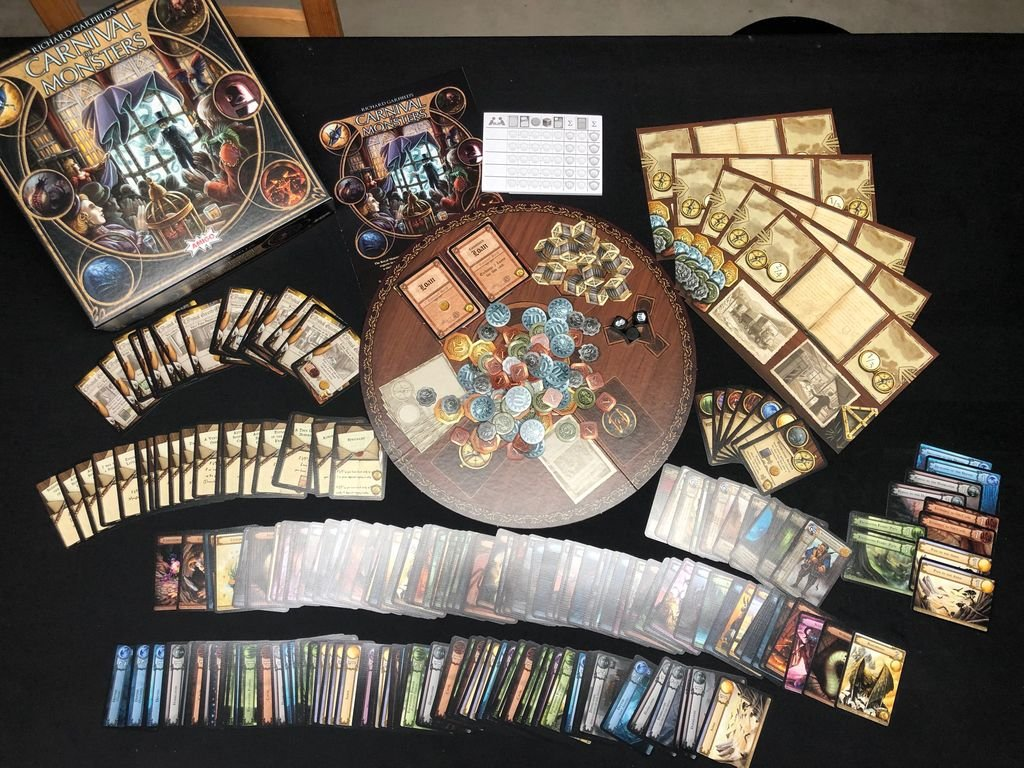Carnival of Monsters components