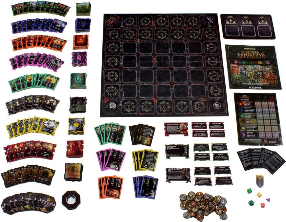Warhammer: Age of Sigmar – The Rise & Fall of Anvalor components