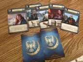 Game of Thrones Board Game Expansion A Feast For Crows cards