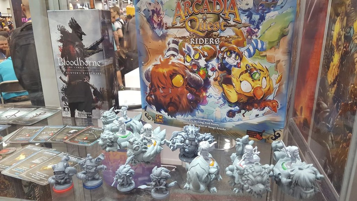 Arcadia Quest: Cavaliers composants