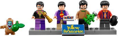 LEGO® Ideas Yellow Submarine minifigures