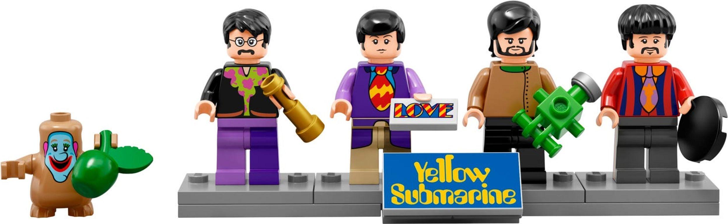 Yellow Submarine minifigures