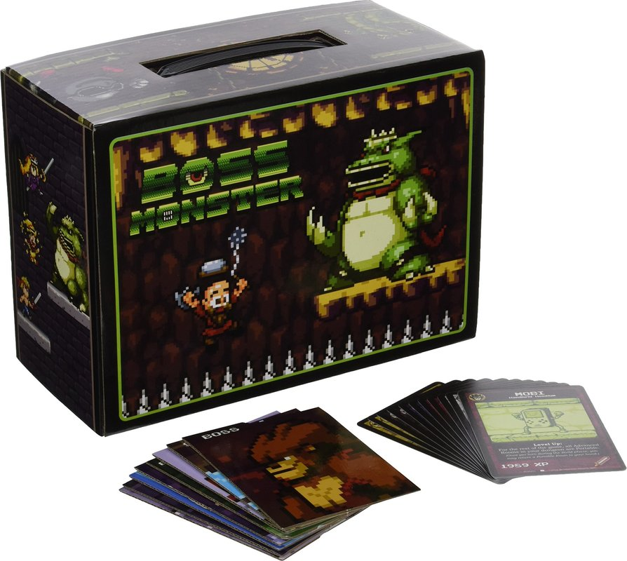 Boss Monster Collectors Box components