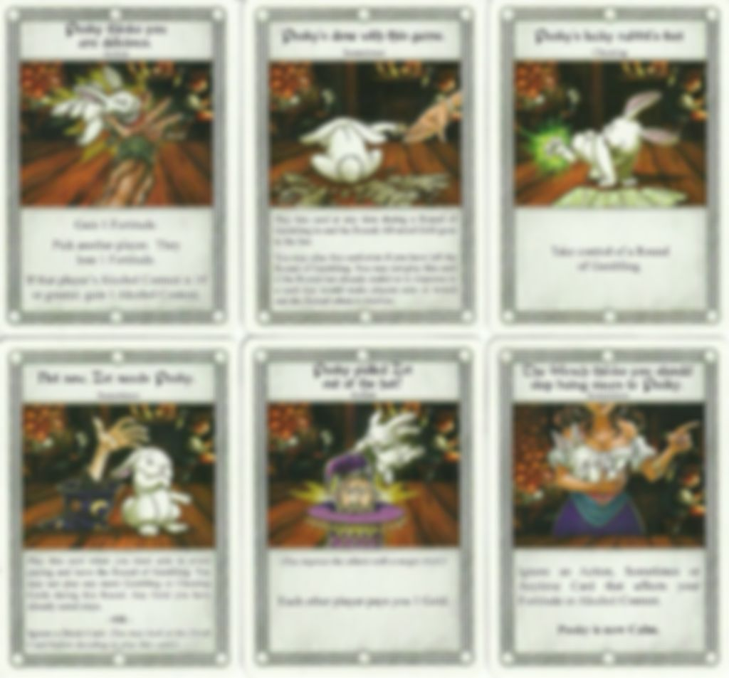 The Red Dragon Inn: Allies - Pooky cards