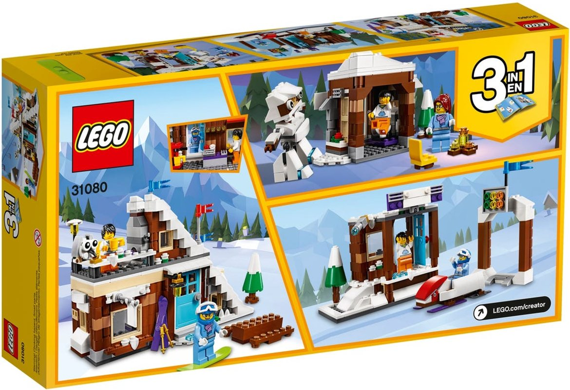 Modular Winter Vacation back of the box