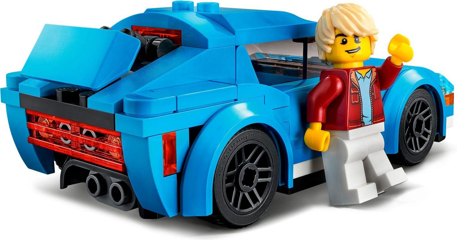 LEGO® City Sports Car back side