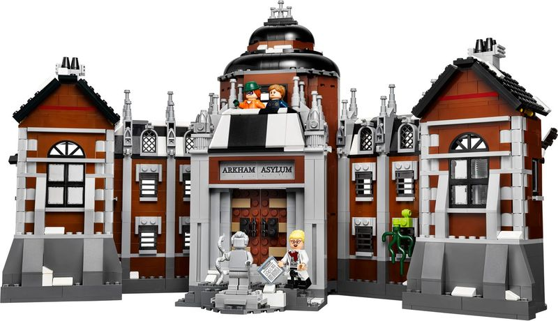 LEGO® Batman Movie Arkham Asylum components