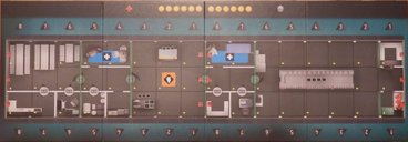 Flash Point: Fire Rescue - Dangerous Waters game board