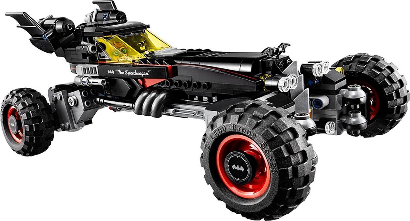 LEGO® Batman Movie The Batmobile components