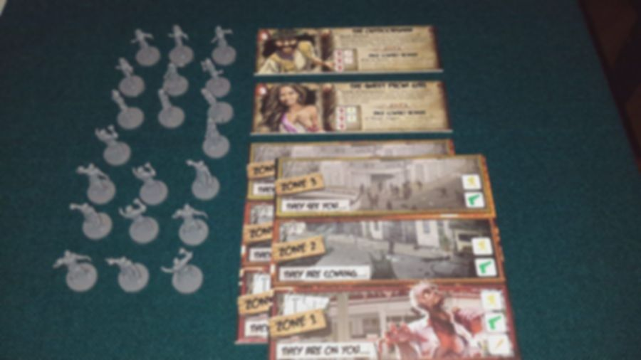 Run, Fight, or Die! 5/6 Player Expansion components