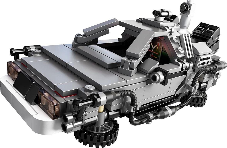 LEGO® Ideas The DeLorean Time Machine components