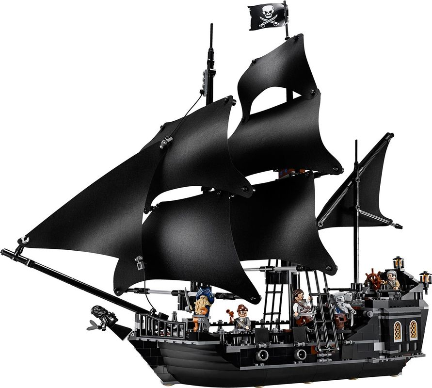 The Black Pearl components